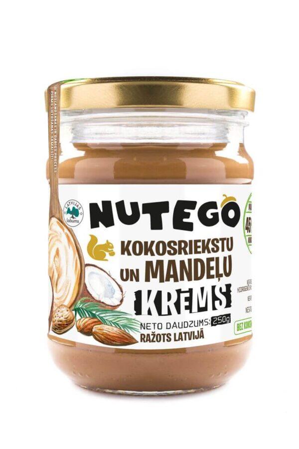 Nutego kokosriekstu un mandeļu krēms 250g