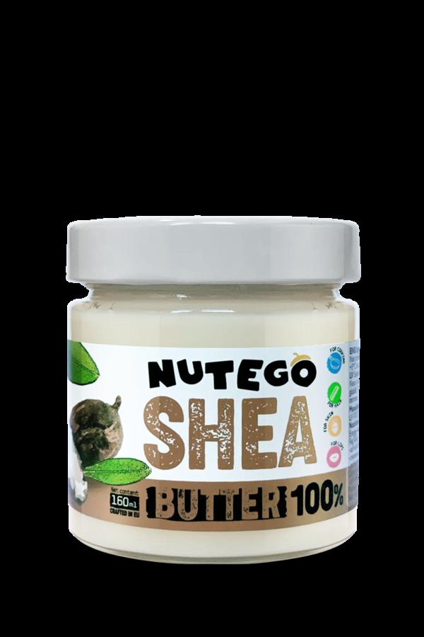 Nutego Shea sviests 100% 160ml